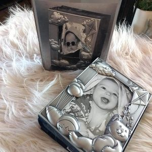 Royal limited silver baby photo album